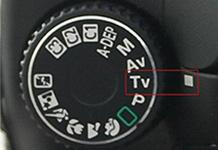 Mode vitesse Canon
